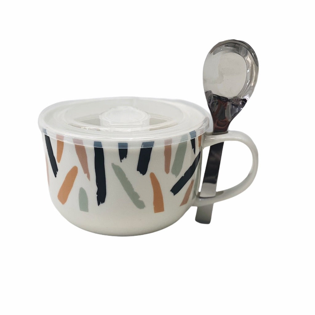 Store, transport, reheat and serve with the Lunch2Go Soup Mug from salt&pepper. Crafted from new bone china, the Lunch2Go Soup Mug comes with an airtight, vented BPA free lid and a stainless steel spoon. 520ml. Shop Online & In-store. AfterPay Available. Australia Wide Shipping | Bliss Gifts & Homewares | Unit 8, 259 Princes Hwy Ulladulla | South Coast NSW | 0427795959, 44541523