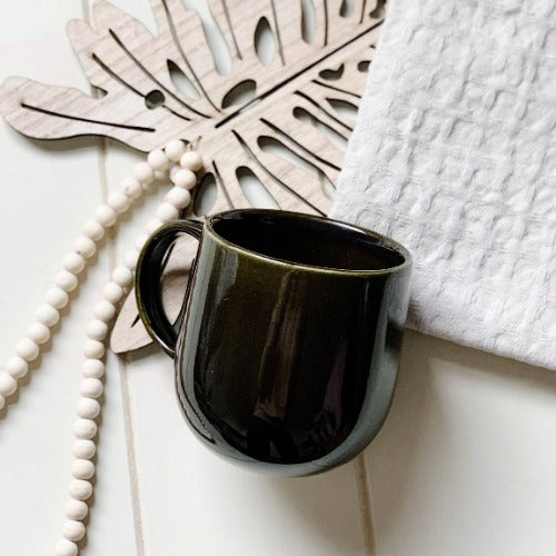 S&P- NAOKO Mug OLIVE 380ml | Bliss Gifts & Homewares |Milton | Online & In-store | 0427795959