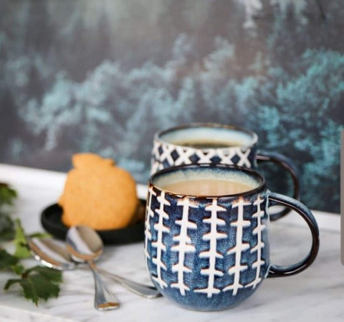 S&P- NAOKO Mug Linear Storm 380ml | Bliss Gifts & Homewares |Milton | Online & In-store | 0427795959