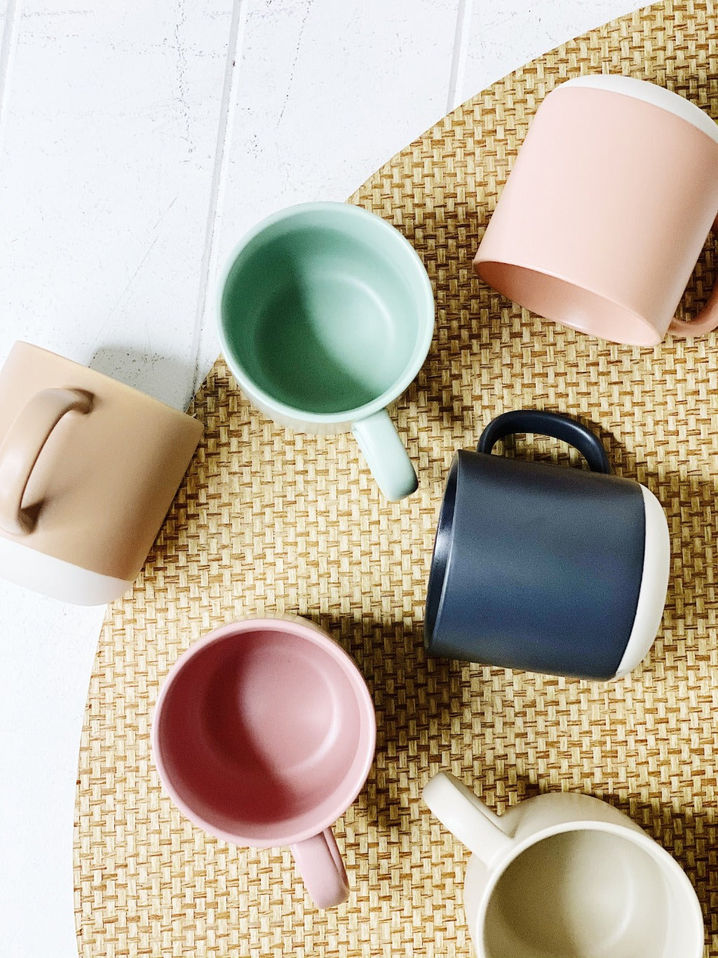 This six-piece PRISM mug set by Salt&Pepper invites you to define your drinking style. The set, which includes 6 x 330ml mugs, comes in an eclectic palette of alluring pastels, making coffee and tea time a stylish affair.| Bliss Gifts & Homewares | Unit 8, 259 Princes Hwy Ulladulla | South Coast NSW | Online Retail Gift & Homeware Shopping | 0427795959, 44541523