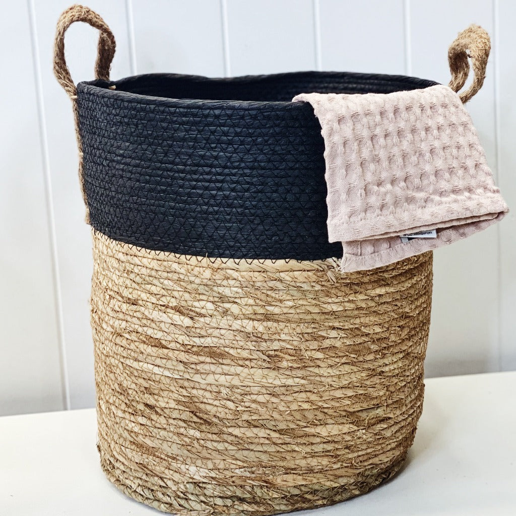 Keep toys, magazines and other home essentials neatly tidied away with our Xavier Woven Baskets that are stylish baskets and storage accessories for the home. The Baskets are made from natural fibres, with a woven rope design which comes in 3 sizes.| Bliss Gifts & Homewares | Unit 8, 259 Princes Hwy Ulladulla | South Coast NSW | Online Retail Gift & Homeware Shopping | 0427795959, 44541523