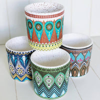 Round Arabesque Pot - Large | Bliss Gifts & Homewares | Milton | Online & In-store | 0427795959 | Afterpay available