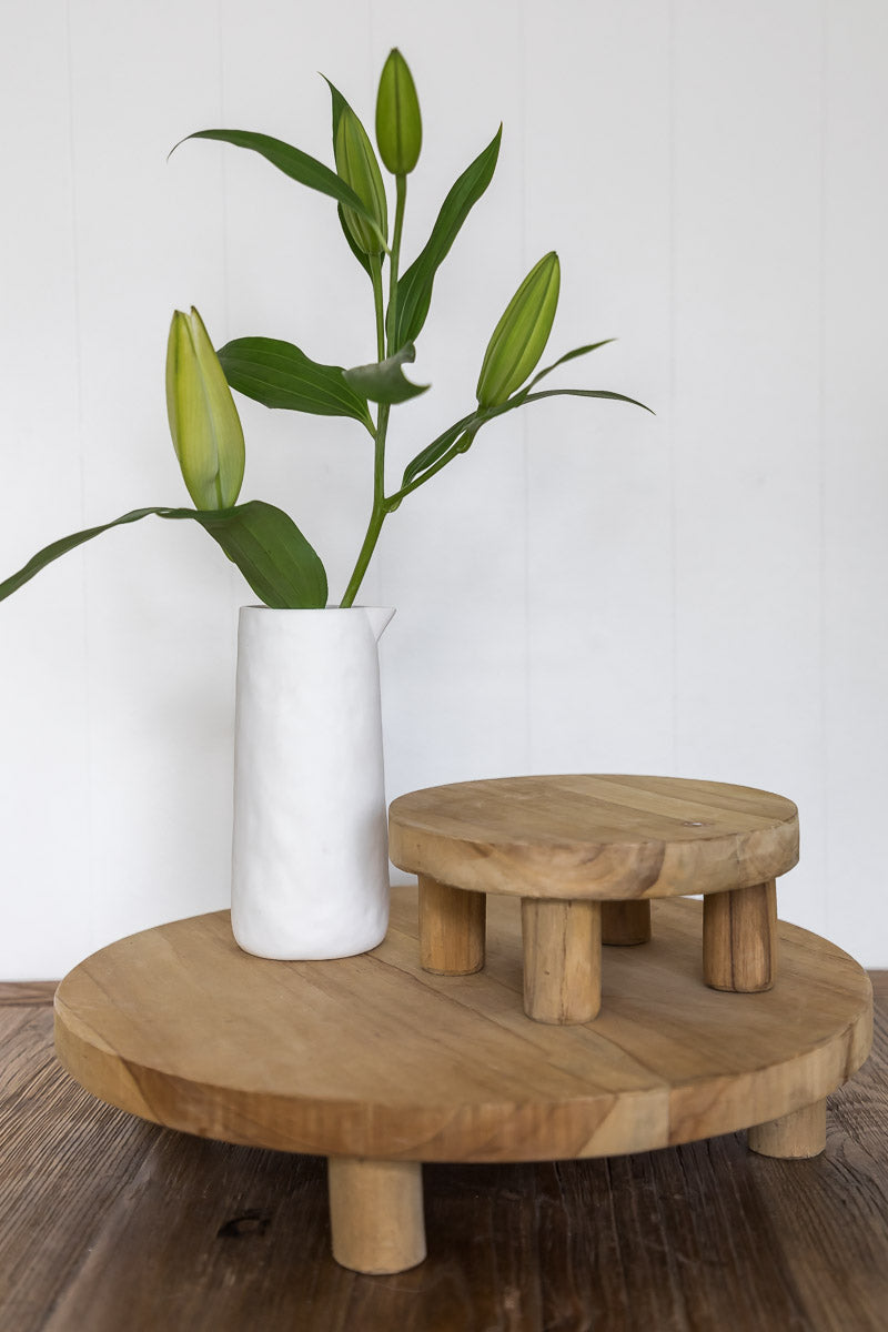 Our gorgeous Attic Teak Wood Stand is perfect to raise and give height to your ornaments or table centrepieces. This footed board could be used for serving platters or cheese boards, or even a plant stand.| Bliss Gifts & Homewares | Unit 8, 259 Princes Hwy Ulladulla | South Coast NSW | Online Retail Gift & Homeware Shopping | 0427795959, 44541523
