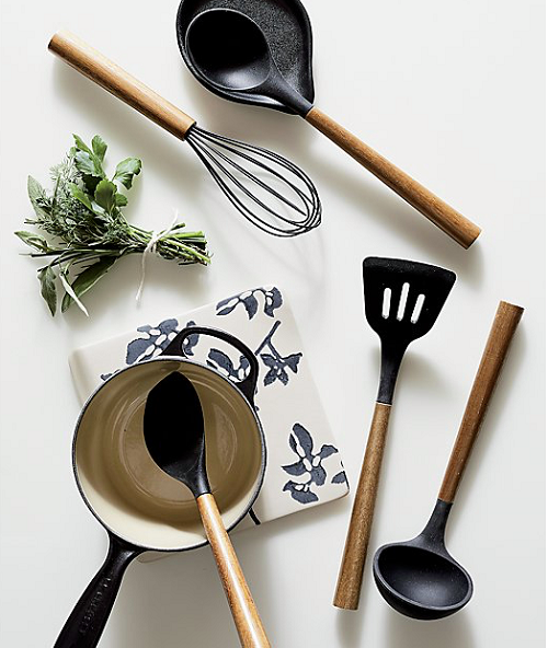 BIALETTI | St Clare | Acacia Handle Black Silicone Ladle | Bliss Gifts & Homewares | Milton | Online & In-store | 0427795959 | Afterpay available