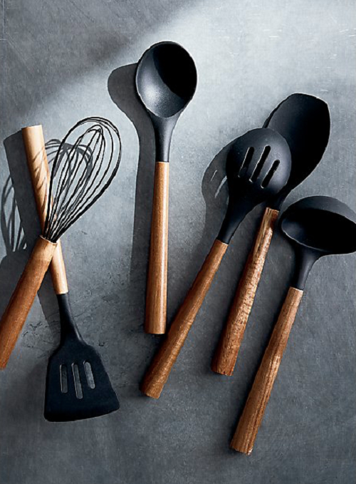 Bialetti St Clare Acacia Handle Silicone Ladle - Kitchen Utensils - black silicone head - heat resistant up to 500degrees - solid acacia handle |Bliss Gifts & Homewares - Unit 8, 259 Princes Hwy Ulladulla - Shop Online & In store - 0427795959, 44541523 - Australia wide shipping