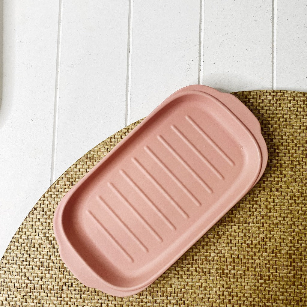 Coffee Culture Ceramic Serving Grill Plate Pink - Tapas Serving Plate - 30 x 15.5 x 2cm - Mix and match styles and colours - 4 stylish colours - Durable Ceramic - Dishwasher Safe - Microwave Safe |Bliss Gifts & Homewares - Unit 8, 259 Princes Hwy Ulladulla - Shop Online & In store - 0427795959, 44541523 - Australia wide shipping