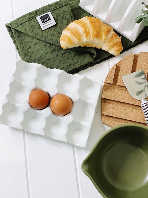 Kitchen Utensils | Ceramic Egg Tray | 12 egg holder | Bliss Gifts & Homewares | Milton | Online & In-store | 0427795959 | Afterpay available