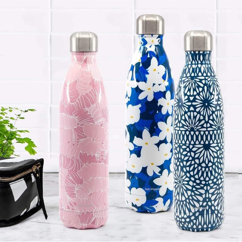 S&P | HYDRA | 750ml Water Bottle | Lace| Bliss Gifts & Homewares | Unit 8, 259 Princes Hwy Ulladulla | South Coast NSW | Online Retail Gift & Homeware Shopping | 0427795959, 44541523