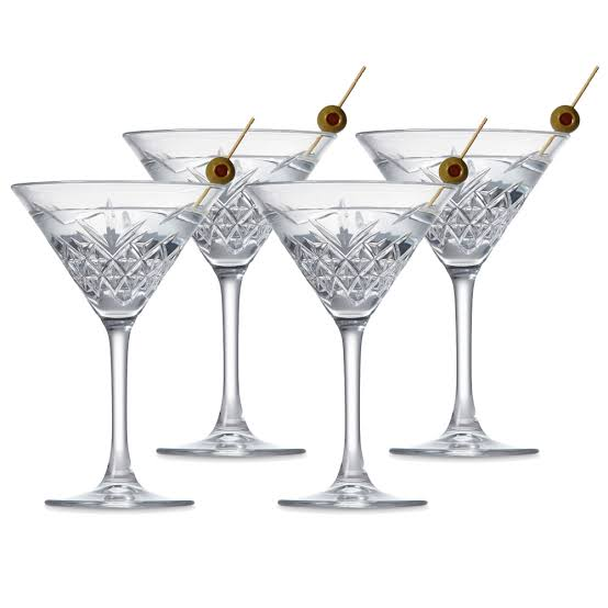 Salt&Pepper | Winston | Martini Glass | Set of 4 | Bliss Gifts & Homewares | Milton | Online & In-store | 0427795959 | Afterpay available