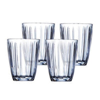CELINE 220ml Tumbler Set of 4 - Blue