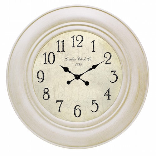 Accessorise your home and express your personality with our Lourdes Antique White & Gold Clock. The 75cm clock with its elegant black hands against the white face will be the talking point of any room.| Bliss Gifts & Homewares | Unit 8, 259 Princes Hwy Ulladulla | South Coast NSW | Online Retail Gift & Homeware Shopping | 0427795959, 44541523