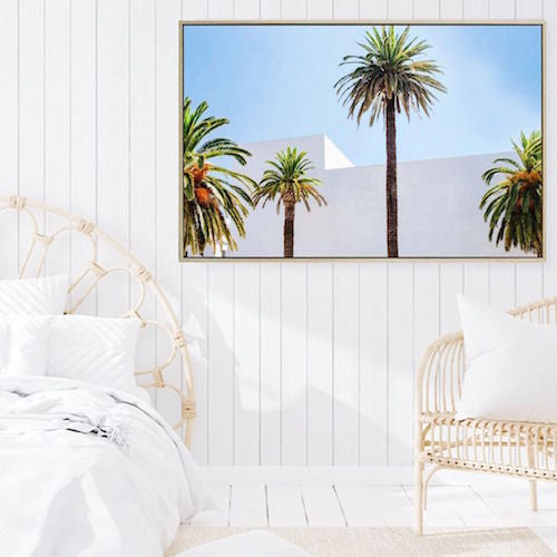 Make a statement on your wall with our Palm Tree Canvas. A gorgeous coastal piece featuring beautiful Palms. This canvas is sure to make a statement especially to create the ultimate feature in your space.| Bliss Gifts & Homewares | Unit 8, 259 Princes Hwy Ulladulla | South Coast NSW | Online Retail Gift & Homeware Shopping | 0427795959, 44541523