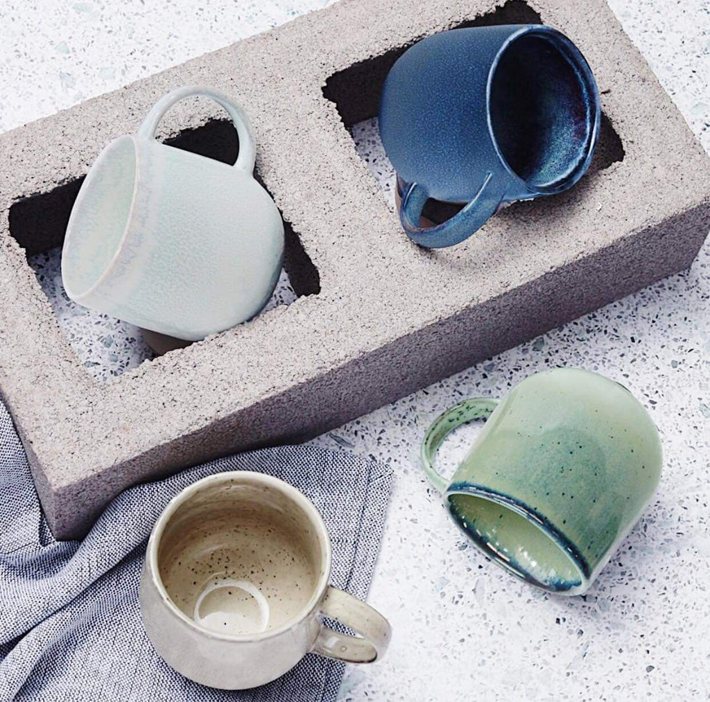 S&P- NAOKO Mug Stone 380ml | Bliss Gifts & Homewares |Milton | Online & In-store | 0427795959