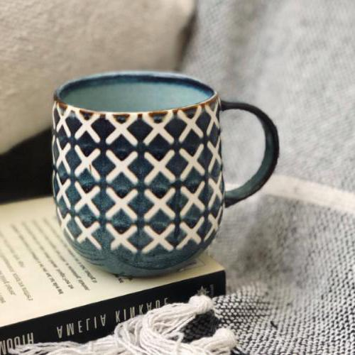 S&P- NAOKO Mug Cross Ocean 380ml | Bliss Gifts & Homewares |Milton | Online & In-store | 0427795959
