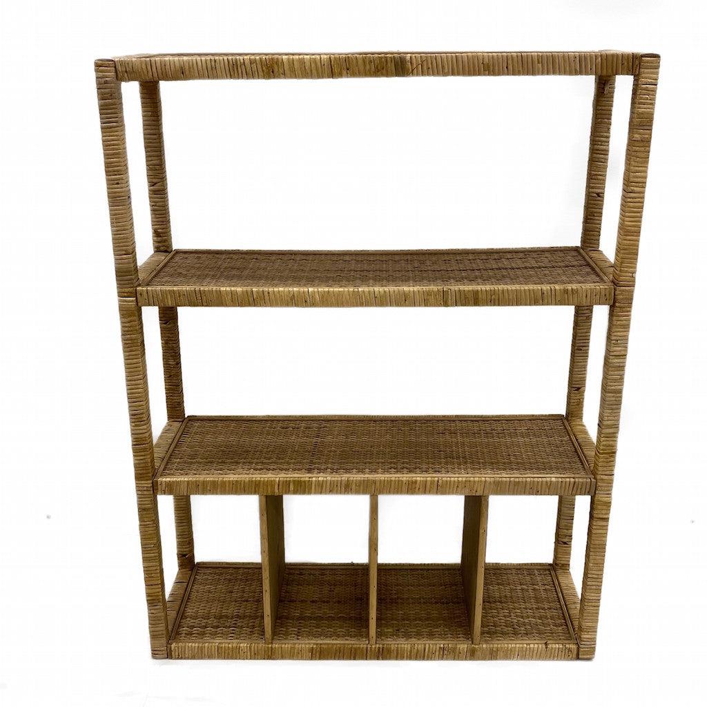 This stunning Weave Rattan Shelf is perfect to add to your home decor adding a rustic yet natural vibe to your home. 65x21x84cm.| Bliss Gifts & Homewares | Unit 8, 259 Princes Hwy Ulladulla | South Coast NSW | Online Retail Gift & Homeware Shopping | 0427795959, 44541523