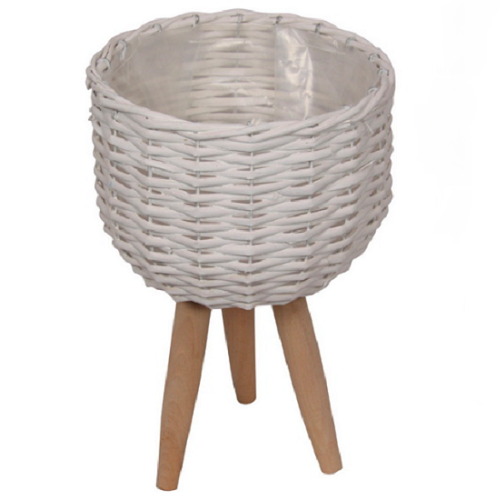 Elevate the look of your plant or floral display with our White Wicker pot Holder - Small. Indoor plants are on trend and our stylish Wicker planters are perfect for showing off your gorgeous greenery. Shop online. AfterPay available. Australia wide Shipping. | Bliss Gifts & Homewares | Unit 8, 259 Princes Hwy Ulladulla | South Coast NSW | 0427795959, 44541523