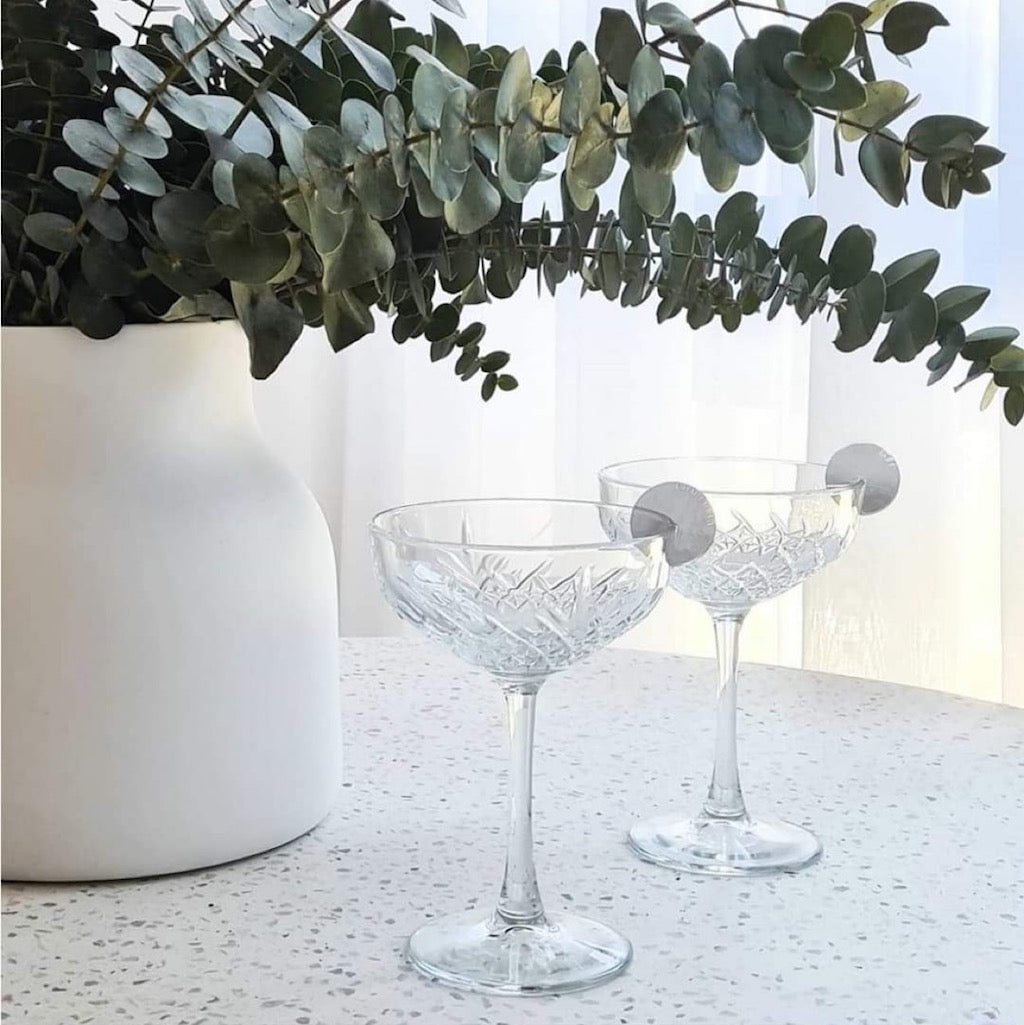 Salt&Peppers WINSTON Set of 4 Coupe glasses are perfect for dinner parties and entertaining. A fine example of European craftsmanship, the 270ml flutes has a classic design that is timeless. Bliss Gifts & Homewares | Unit 8, 259 Princes Hwy Ulladulla | South Coast NSW | Online Retail Gift & Homeware Shopping | 0427795959, 44541523