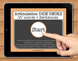 NO PRINT Speech Therapy Articulation Z Game