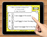 NO PRINT (Digital) Multiple Meaning Words Game