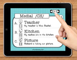 NO PRINT Speech Therapy Articulation CH Game