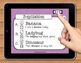 NO PRINT Multisyllabic Words Speech Therapy Articulation Game