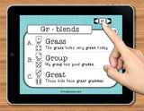 NO PRINT Speech Therapy Articulation R-Blends Game
