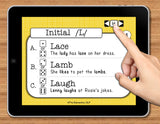 NO PRINT Speech Therapy Articulation L Game
