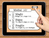 NO PRINT Speech Therapy Articulation J Game