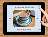 NO PRINT Winter and Christmas Vocabulary Flashcards