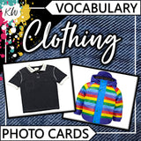 Vocabulary PHOTO CARDS Mega Bundle