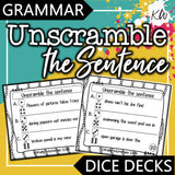 Grammar DICE DECKS Mega Bundle