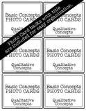 Qualitative Concepts PHOTO CARDS The Elementary SLP Materials Shop