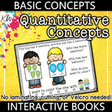 Quantitative Concepts Interactive Book The Elementary SLP Materials Shop
