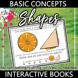 Shapes Interactive Book The Elementary SLP Materials Shop