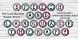 Speech Therapy Decor: Glitter Speech Room Decor The Elementary SLP Materials Shop