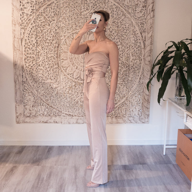 Pre-loved Beige gold Jumpsuit