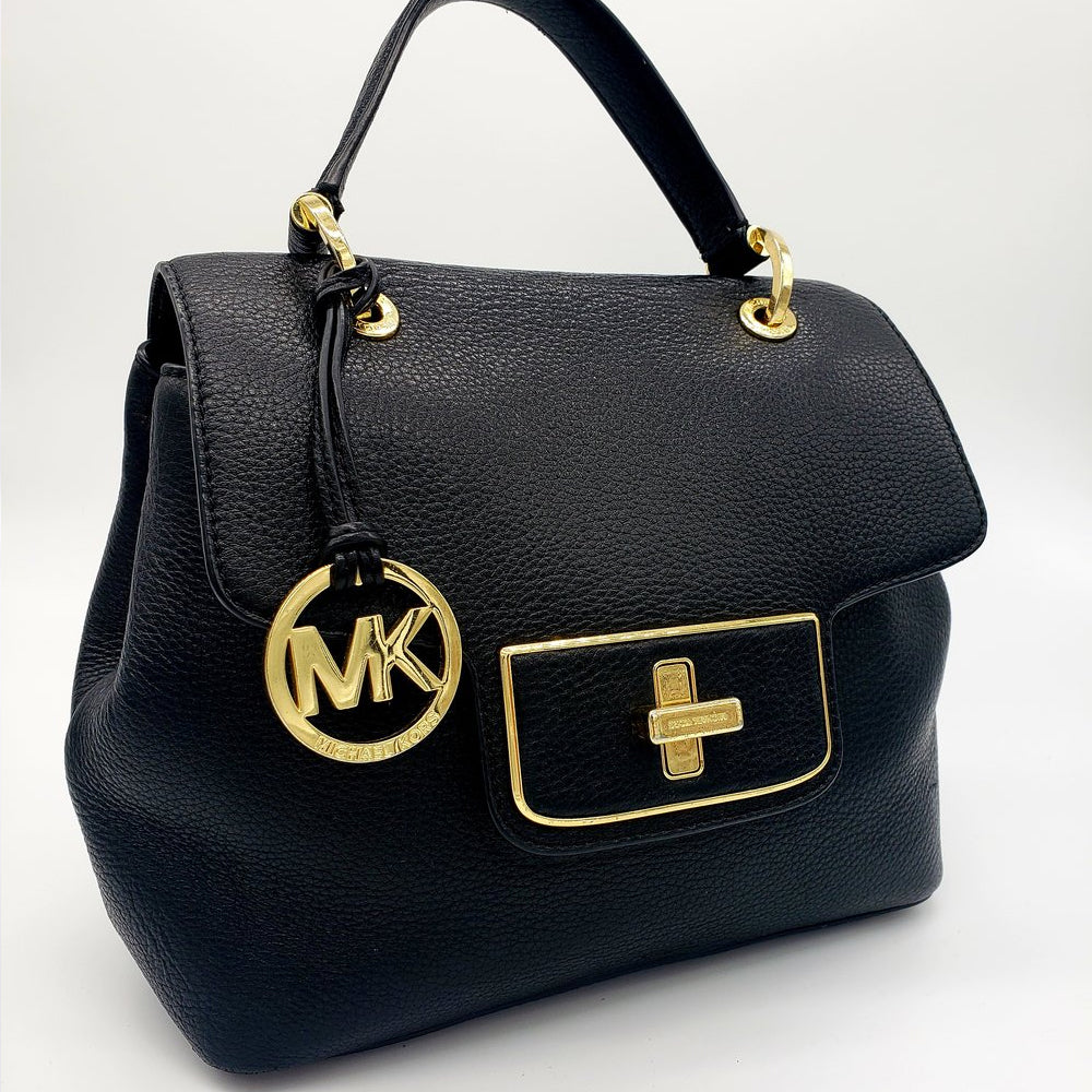 SOLD! Mickael kors real leather purse pre-loved