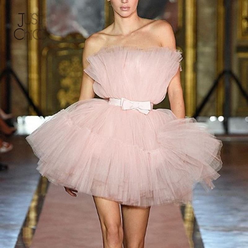 Strapless Tutu dress
