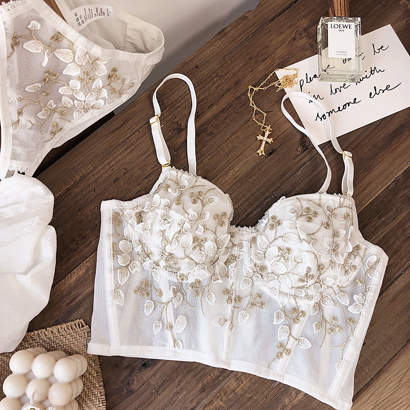 French floral set