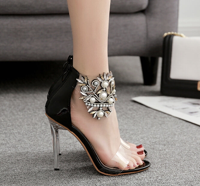 Glamour Jewel sandals - Fashionablebrat