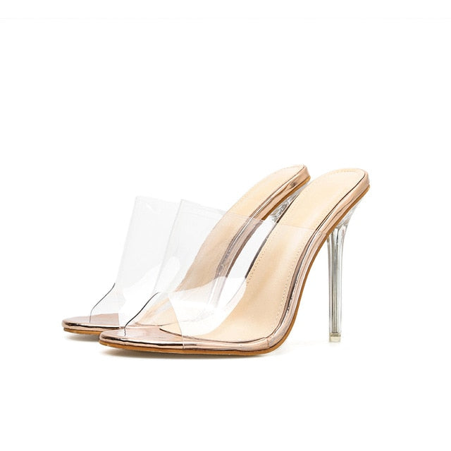 Transparent Sandals Open Toe