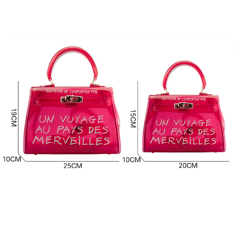 Transparent merveille bag