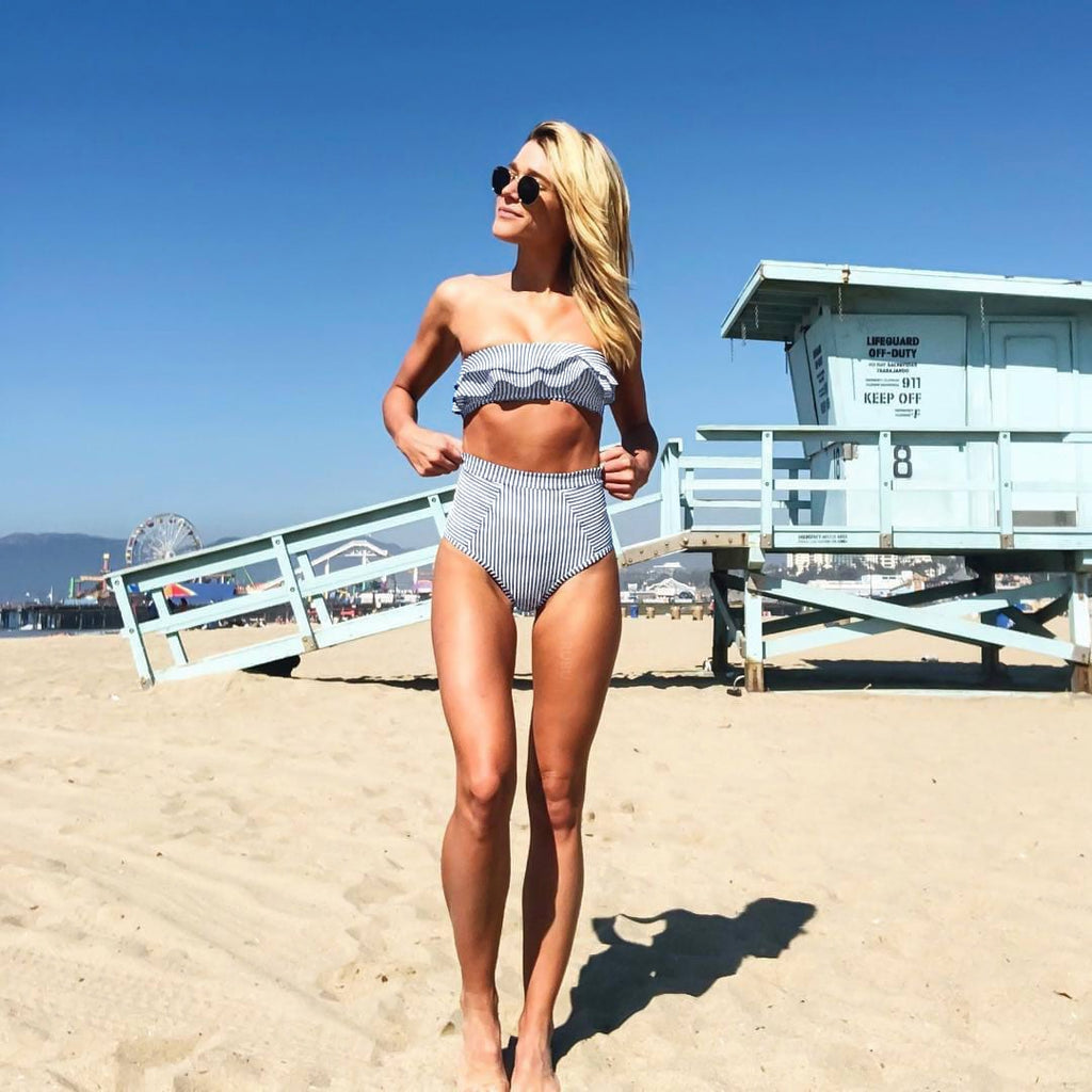 Retro High Waist Bikini