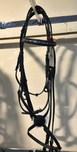 Horze Bridle Black Leather with Fig 8 Noseband - COB