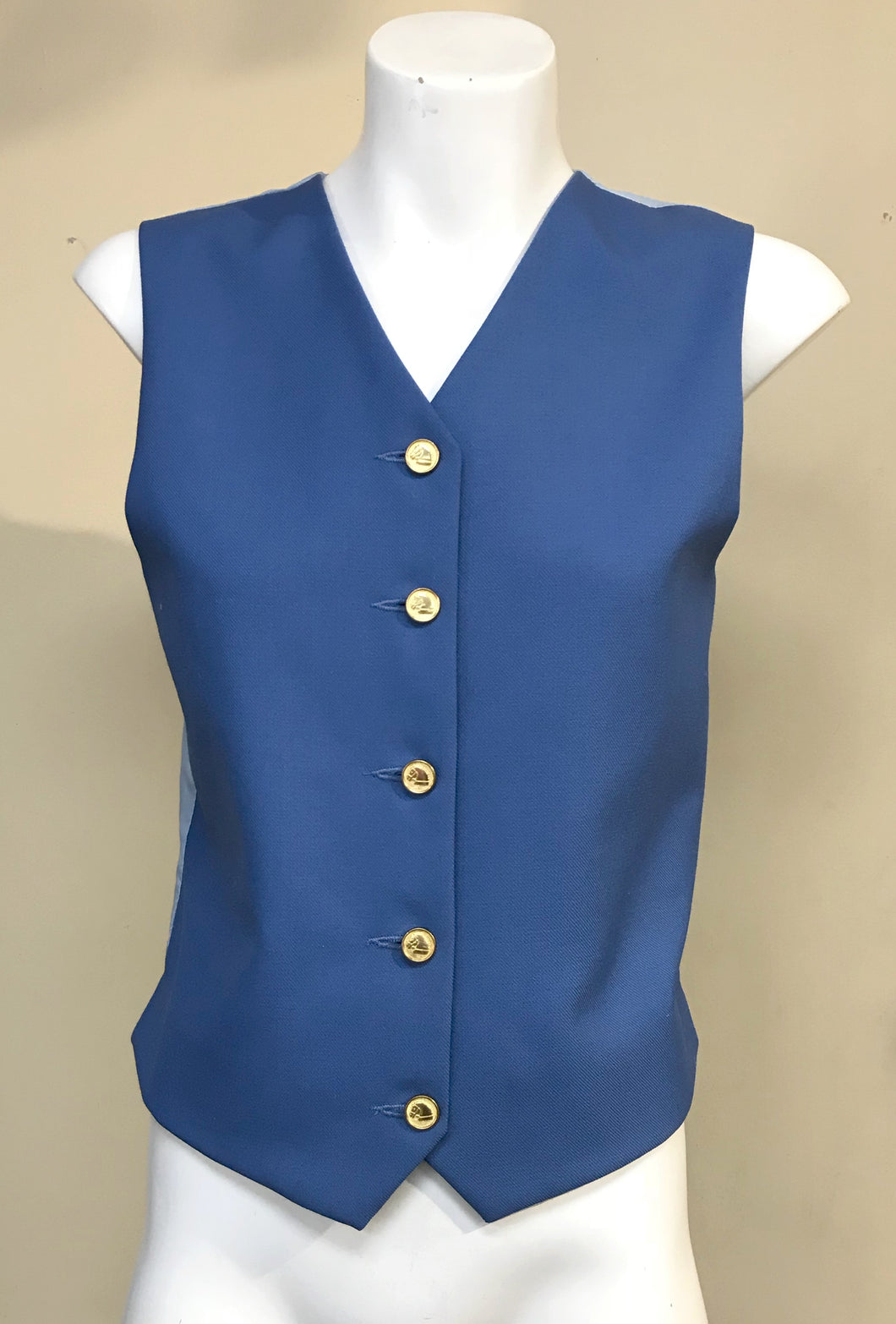 Windsor Riding Apparel Show Vest/Waistcoat Cornflower Blue