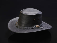 Ram Leather Crushable Outback Hat