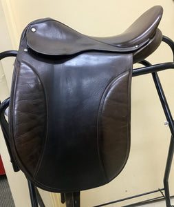 "Kent Dressage/Show Saddle 16 1/2"" Brown"