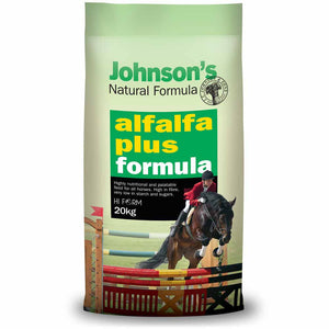 Johnson's Natural Formula Alfalfa Plus 20kg *instore pickup only*