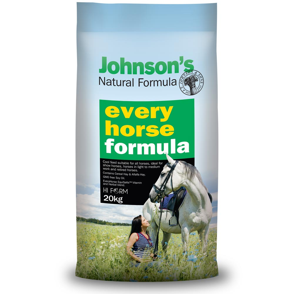 Johnson's Natural Formula - Every Horse 20kg *pickup instore only*