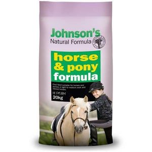 Johnson's Natural Formula Horse and Pony 20kg *instore pickup only*